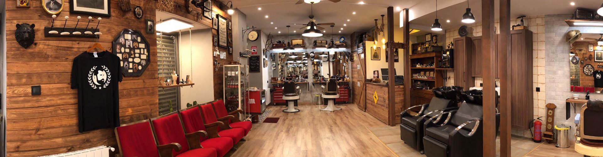 Barbería Bearbero en calle Huertas