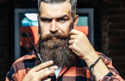 como arreglar la barba.